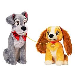 Disney Lady and the Tramp Plush Set - Valentine's Day - Smal