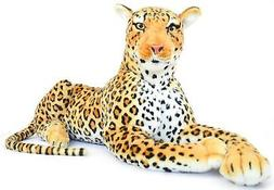 VIAHART Lahari The Leopard | 3 1/2 Foot  Big Stuffed Animal