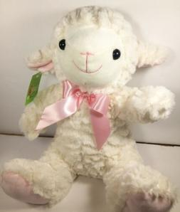 "Lamb Plush 10"" Stuffed Animal NEW Super Soft Farm Animals"