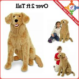 Large Golden Retriever Plush Play Toy Kids Stuffed Animal Li