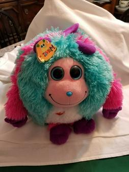 Large Pink Big Eyes Monstaz Jazzy Plush Toy by Ty NEW WITH T