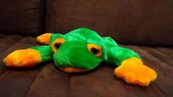 Ty Large Plush Beanie Buddy Smoochy Frog Buddies Toy Stuffed