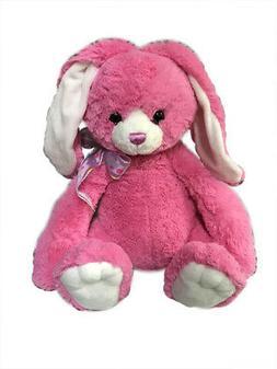 "Aurora - Large Stuffed Bunny - Sherbert - 15"""
