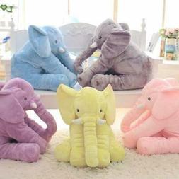 Large Stuffed Elephant Toy