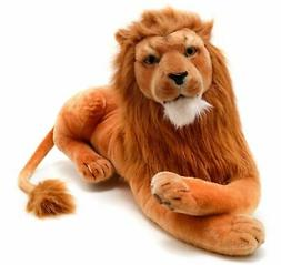VIAHART Lasodo The Lion | 3 1/2 Foot  Big Stuffed Animal Plu