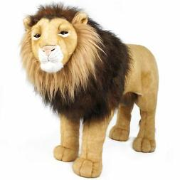 VIAHART Laurent The Lion | 36 Inch Stuffed Big Cat Standing