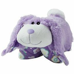 "Pillow Pets Springtime Lavender Bunny, 18"" Stuffed Animal Pl"