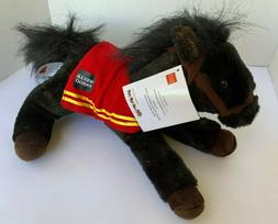 Wells Fargo Legendary Pony Plush 2016 Mike Horse Black Brown
