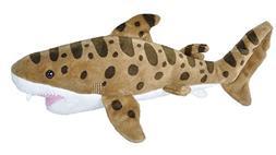 Wild Republic Leopard Shark plush, Stuffed Animal, Plush Toy