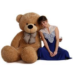 5 Foot Life Size Teddy Bear Huge Stuffed Animal Toy Huggable