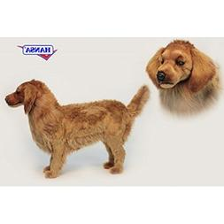 Life-like Handcrafted Extra Soft Plush Life Size Golden Retr
