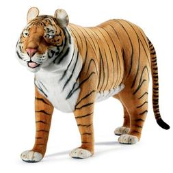 Life Size Standing Tiger Plush Stuffed Animal