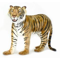 "70"" Life Size Standing Tiger Stuffed Animal"