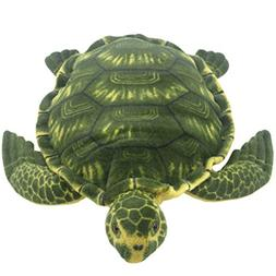 TAGLN Lifelike Giant Plush Toys Tortoise Pillow Large Realis