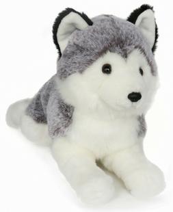 Lifelike Siberian Husky Stuffed Animal - Plush Toy - 16 Inch