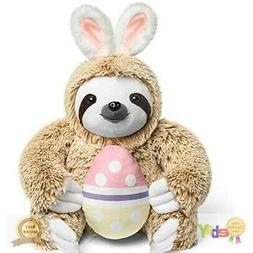 Light Autumn Easter Bunny Stuffed Animal - Stuffed Sloth Bun