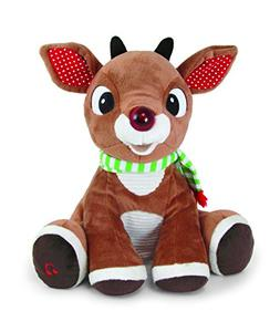Light-Up Rudolph Plush with Music and Lights