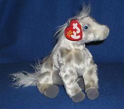 Ty Beanie Baby ~ LIGHTNING the Horse ~ MINT with MINT TAGS ~