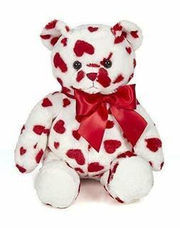 Lil' Cutie Valentines White Plush Stuffed Animal Teddy Bear
