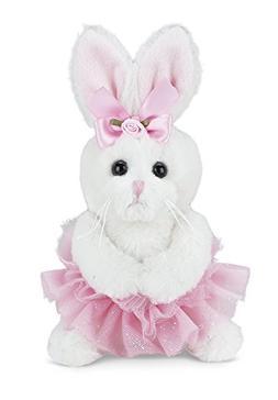 Bearington Lil' Twirls Plush Stuffed Animal Bunny Rabbit Bal