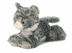 "Lily Gray Tabby Mini Flopsie 8"" by Aurora"