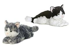 "Aurora 12"" Lily and Oreo Cat Flopsies Bundle"