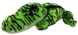 """Lime Green Alligator 19"""" by The Petting Zoo"""