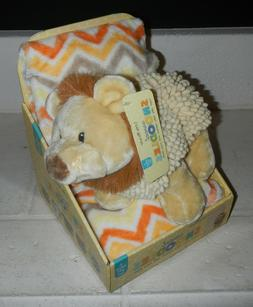 Little Miracles Lion Sweet Snoodles Plush Chenille Stuffed A