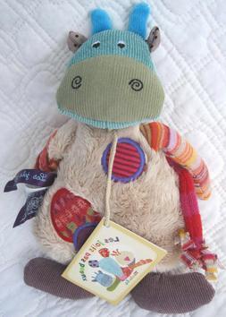 little cow stuffed toy les jolis pas