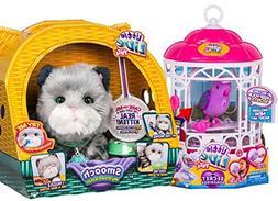 Little Live Pets Smooch, My Dream Kitten & Bird Cage w Dream