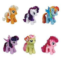 Ty My Little Pony Friendship Magic 6 Inch Beanie Babies Coll