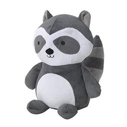 Bedtime Originals Little Rascals Raccoon Plush Ringo, Black/