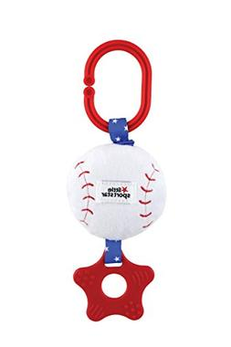 Little Sport Star Zippee with Crinkle & Teether Baseball Plu