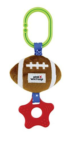 Little Sport Star, Zippee with Crinkle & Teether Football Pl