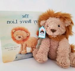 "Jellycat London 9"" Fuddlewuddle Lion Stuffed Animal and Very"