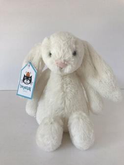 Jellycat London Small Cream Bashful Bunny Rabbit Plush Stuff
