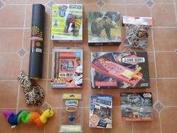 Lot of 12 New Unopened Toys - Games, Puzzles, Stuffed Animal