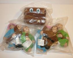 Lot of 3 Settlers of Catan Goodies Plush Stuffed Animals Woo