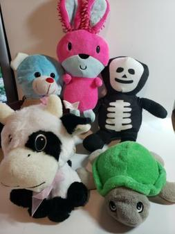 Lot Of 5 Mini Plush Animals