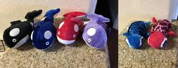 lot of 6 sea animal plush stuffed