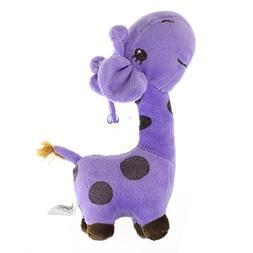 FEITONG Lovely Giraffe Dear Soft Plush Toy Animal Dolls Baby