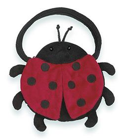 Bearington Lucky Lady Bug Carrysome Girls Stuffed Animal Pur