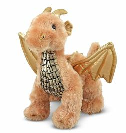 Melissa & Doug Luster Dragon Stuffed Animal