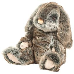 Lux Super Deluxe Bunny, Plush and Squeezable by Douglas Toys