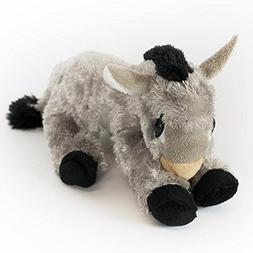 """Wishpets 9"""" Lying Donkey Plush Toy"""