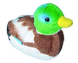 5 Inch Mallard Duck Audubon Bird  Stuffed Animal with Sound