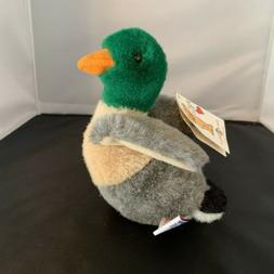 Mary Meyer Mallard Duck Stuffed Animal Wild Natural Collecti