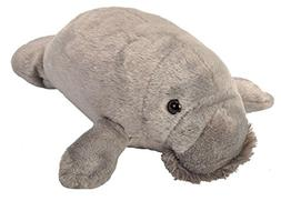 "Wild Republic MANATEE 13"" Plush Cuddlekins Gray Stuffed Anim"