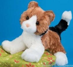 "MAPS Douglas plush 6"" CALICO stuffed animal CAT brown black"