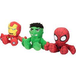 "Just Play Marvel SHA Small Superheroes 8"" Plushies Plush Stu"
